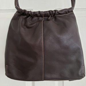 St John's Bay Brrown Leather Shoulder Bag